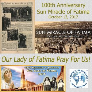 October 13, 2017 - Fatima Sun Miracle 100th Anniversary