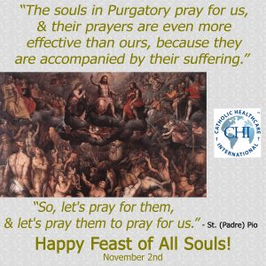 November 2, 2017 - Feast of All Souls