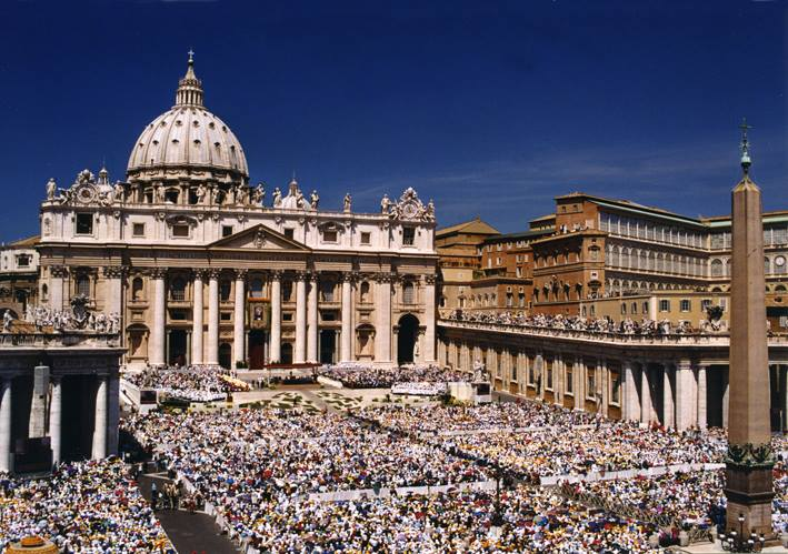 The Canonization of St. Pio of Pietrelcina — St. Peter Square in Rome