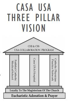 Casa USA Three Pillar Vision
