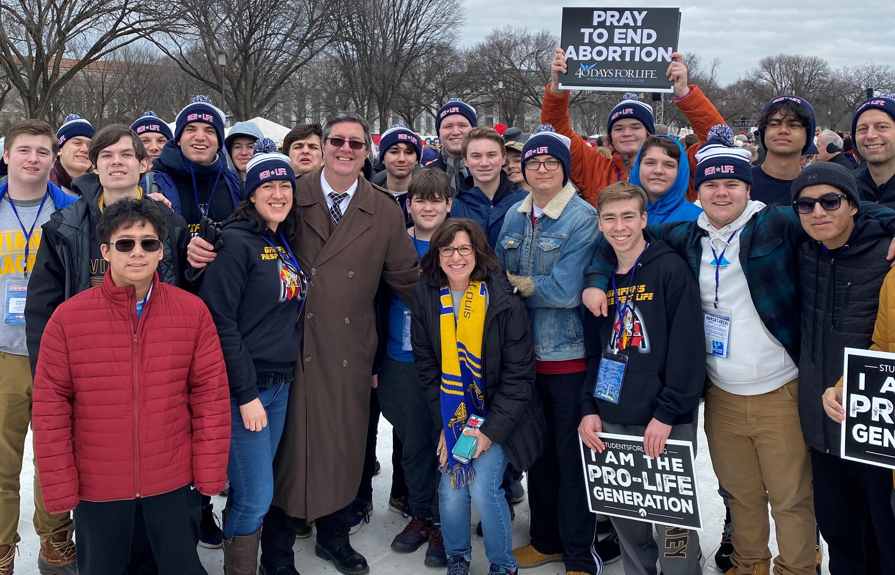 Catholic Healthcare International At March For Life 2020