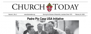Church Today Padre Pio Article