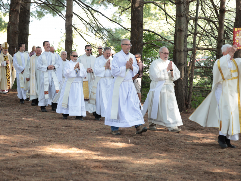 Casa USA Padre Pio Property Mass Procession