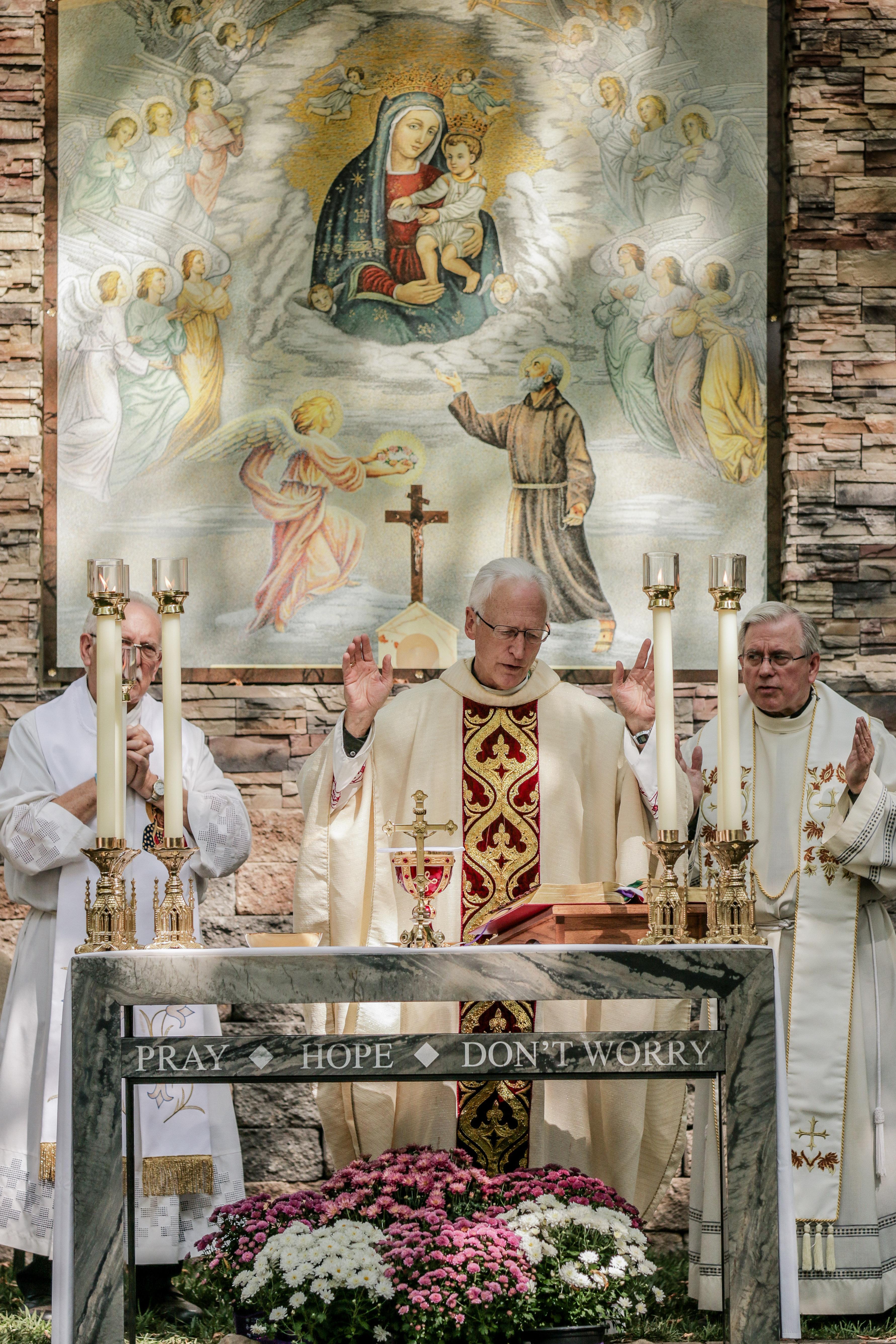 Padre Pio Feast Day Mass & Celebration On New Casa USA Campus
