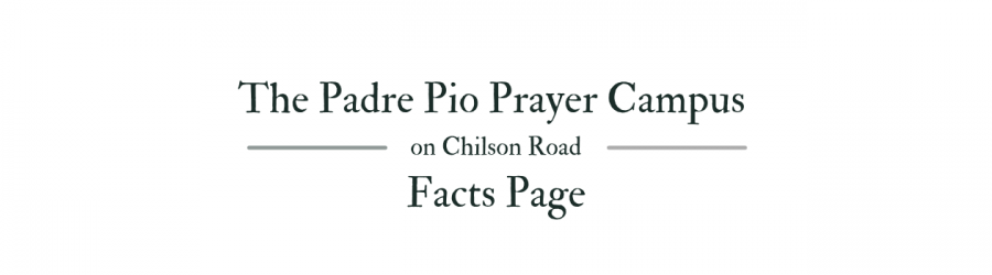 Facts page Padre Pio Howell MI